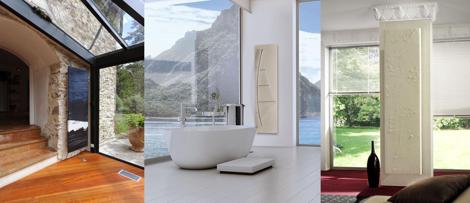 Luxusní designové radiátory